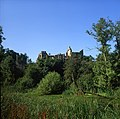3, Guy's Cliff House, Warwick. Picture taken from across the river Avon. Circa 2005.jpg