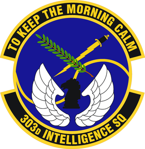 303d Intelligence Squadron - Image: 303 Intelligence Sq emblem (2)