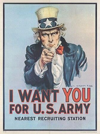 30b Sammlung Eybl USA James Montgomery Flagg (1877-1960) I want you for U.S. Army. 1917. 101 x 76 cm. (Coll..Nr. 3116).jpg