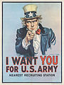 30b Sammlung Eybl USA James Montgomery Flagg (1877-1960) I want you for U.S. Army. 1917. 101 x 76 cm. (Coll..Nr. 3116).jpg