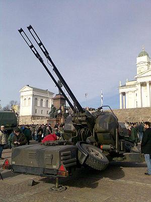 Oerlikon GDF - A modernized Finnish 35 mm Oerlikon twin cannon
