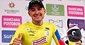 3 Etapa-Vuelta a Colombia 2018-Ciclista Juan Pablo Suarez-Lider Clasificacion General.jpg