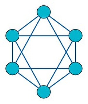 K-vertex-connected graph - A graph with connectivity 4.