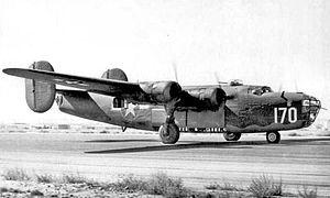 29th Flying Training Wing - 411th Bombardment Squadron B-24 Liberator
