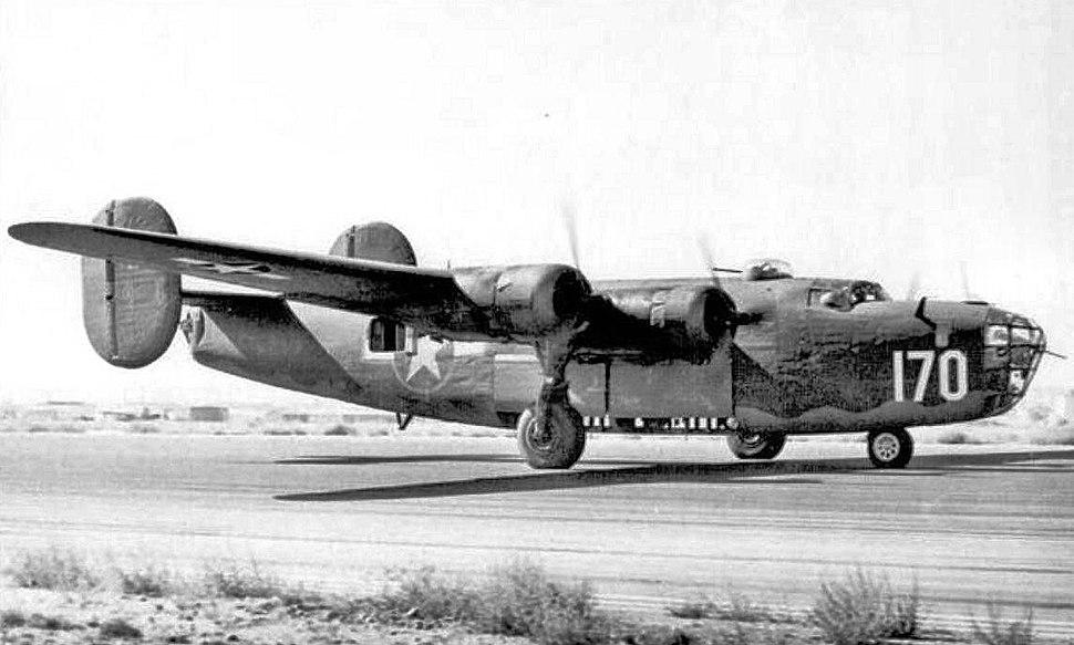 411th Bombardment Squadron B-24E Liberator 1944