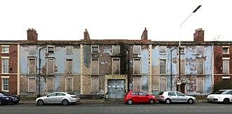 Everton, Liverpool - Everton Road drill hall