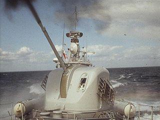 Bofors 57 mm L/70 naval artillery gun