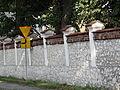 615775 pow krakowski gm Czernichow Czernichow dwor ogrodzenie 03.JPG