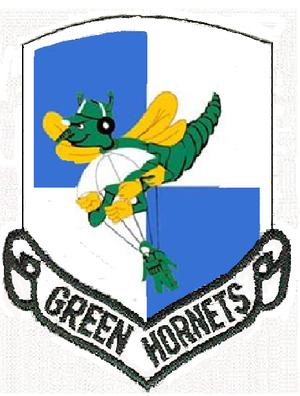 61st Airlift Squadron - Image: 61 Troop Carrier Sq emblem