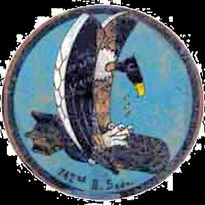 742d Missile Squadron - Image: 742d Bombardment Squadron Emblem