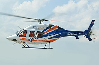 Bell 429 GlobalRanger - A Bell 429 from Mercy Flight 5