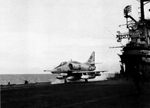 A-4E VA-106 launching from USS Intrepid (CVS-11) c1968.jpg