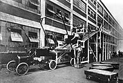 Model T production at the Highland Park Ford Plant