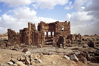 Syria (region) - Ruins at Sergiopolis