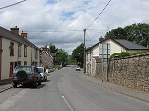 A4069 In Llangadog - geograph.org.uk - 1413117.jpg