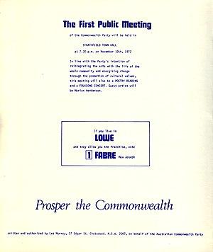 Australian Commonwealth Party - Image: ACP4