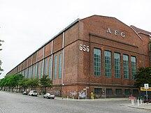 Wedding-Arbetarstadsdel-AEG Montagehalle für Großgeräte Voltastraße Hussitenstraße 3