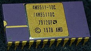 Coprocessor - AM9511-1 Arithmetic Co-Processor