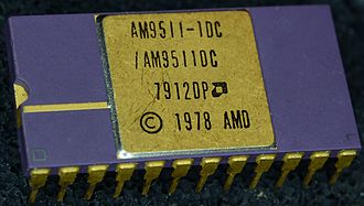 Coprocessor - AM9511-1 Arithmetic Co-Processor