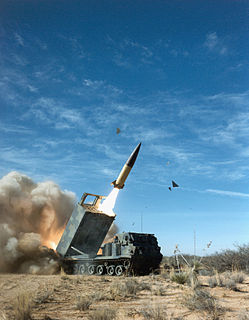 MGM-140 ATACMS Type of Rocket artillery and tactical ballistic missile