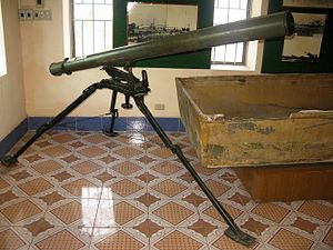 A DKB rocket launcher of the Vietnam People's Army.jpg