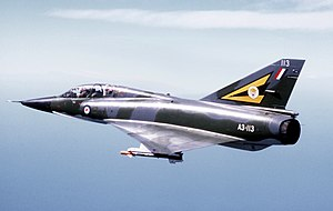 Dassault Mirage III - A Mirage III of the Royal Australian Air Force
