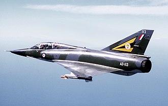 Dassault Mirage III - A Mirage III of the Royal Australian Air Force