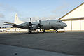 A P-3C Orion aircraft assigned to Patrol Squadron (VP) 40 is parked at Naval Air Facility Misawa, Japan, Aug. 4, 2011 110804-N-KK192-004.jpg
