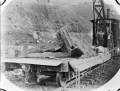 A ballast plough on a railway line ATLIB 306332.png