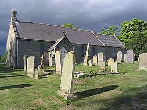 English: A country church The church at the ha...