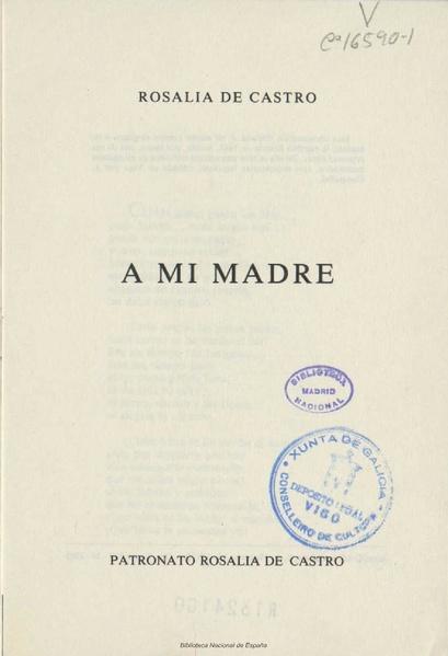 File:A mi madre 1863 Rosalía de Castro. Ed. 1985.pdf