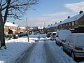 A snowy Hordle Road - geograph.org.uk - 1653327.jpg