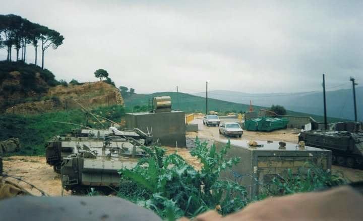 Aaichiye IDF military base sounth lebanon 1998