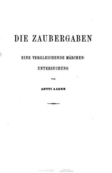 File:Aarne Die Zaubergaben.djvu