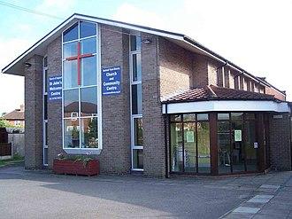 Abbey Hulton - Image: Abbey Hulton, St. John geograph.org.uk 534233