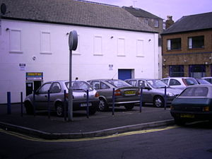 William Abbotts - The site of the well discovered by Abbotts and Satchwell, now a carpark.