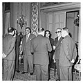 Abdel Nasser holds a dinner for Ali Yavar Jung, the Indian Ambassador, in Cairo (01).jpg