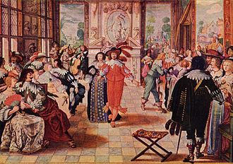 1635 in art - Abraham Bosse – Der Ball