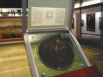 Dirk Hartog Island - Copy of Dirk Hartog's plate in the Rijksmuseum, Amsterdam