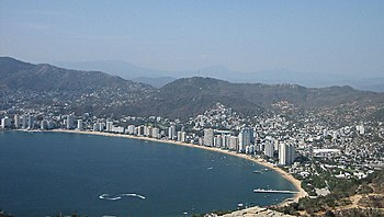 Acapulco, the town were the telenovela is set.