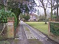 Access drive to Frensham Manor - geograph.org.uk - 1711212.jpg