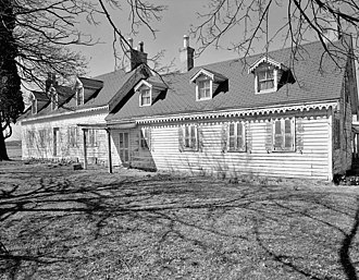 National Register of Historic Places listings in southern New Castle County, Delaware - Image: Achmester HABS DE1