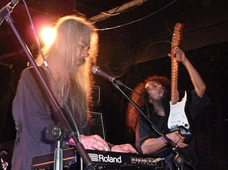 Acid Mothers Temple - Image: Acid Mothers Temple @ Night & Day Cafe, Manchester 21 10 2012.... (8112184305)