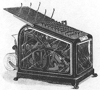 American Arithmometer Company - Class 1 Adding Machine 1891