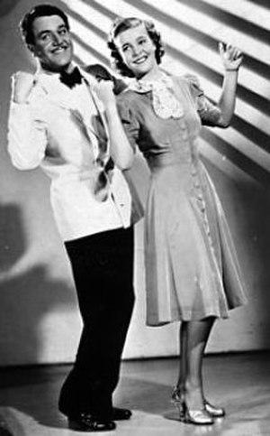 Swing it, magistern! - Adolf Jahr and Alice Babs.