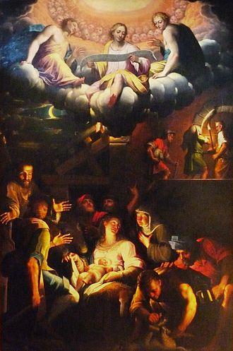 Giovanni Battista Trotti - Adoration by Shepherds