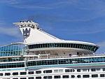Adventure of the Seas Funnel Tallinn 18 June 2013.JPG