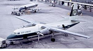 Fokker F27 Friendship - Aer Lingus was the first airline to operate the F27 Friendship
