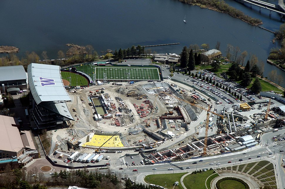 Aerial Husky Stadium April 6 2012