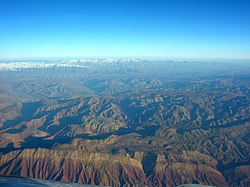 Aerial View East-Northeast of Garmsar